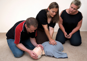 EMT training: Basic Life Support training